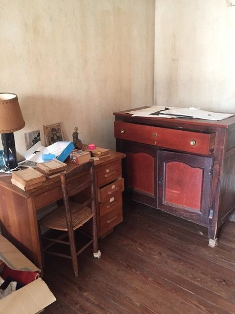 meubles à enlever dans un appartement à Paris