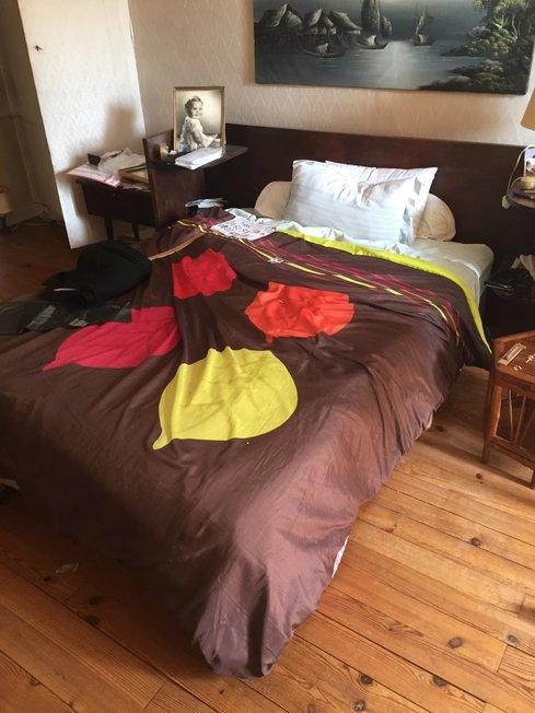 lit à débarrasser